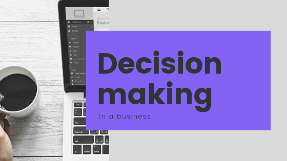 decision making in a business